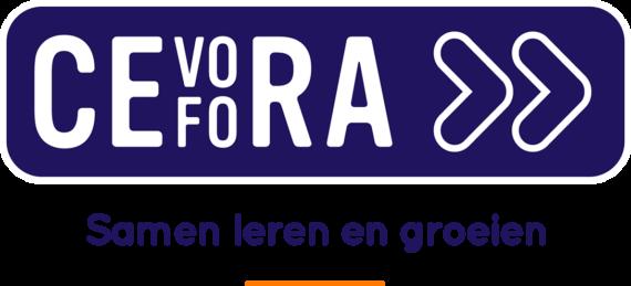 Cevora logo baseline transparant NL