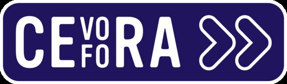 Cevora logo transparant