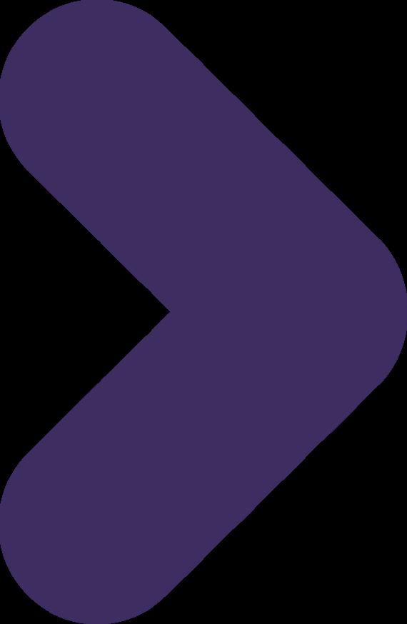 Pijltje paars