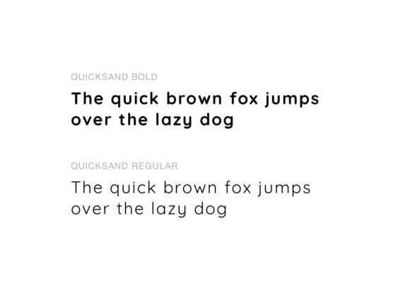 Typo quicksand